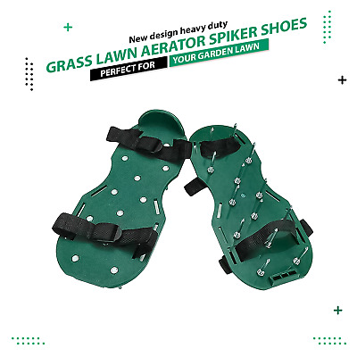 Garden Lawn Durable Lawn Aerator Spiker Shoes Spike Exercise Sandals Heavy Duty
