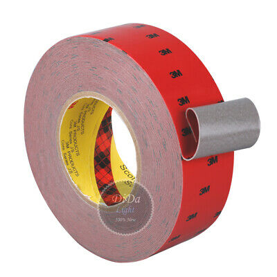 (5-50mm)3M Gray 5108 Double Sided Super Sticky  Foam cotton Adhesive Tape