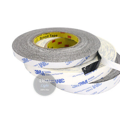 (5-50mm)3M White/Black Heat Resistant Super Sticky Double Sided Adhesive Tape