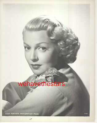 VINTAGE Lana Turner EARLY 50s MGM BEAUTY Publicity Portrait