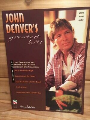 John Denver/'s Greatest Hits Sheet Music Piano Vocal Songbook NEW 002502166
