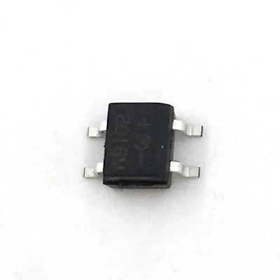 50pcs B10S 1000V 0.5A SOP4 Bridge Rectifier Diode mb10s