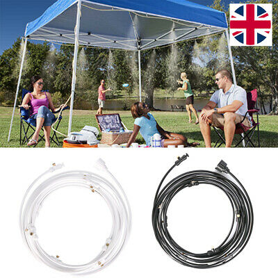 Outdoor Misting Cooling System for Garden Patio Waterring Irrigation Line System
