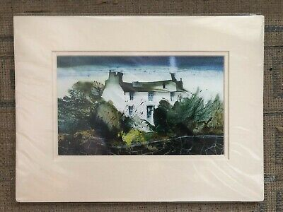 Sue Howells Mounted Print ready to frame Hands Full Again