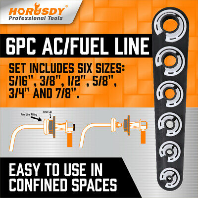 AC Fuel Line DISCONNECT TOOL ~ GM FORD CHRYSLER TOYOTA Removal Transmission