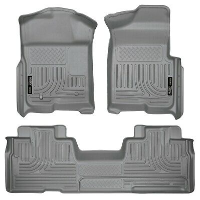 Husky Liners 99541 WeatherBeater Black Front and 2nd Seat Floor Liner