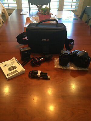 Canon EOS Rebel T6 Comes With Everything Camera bag Included.