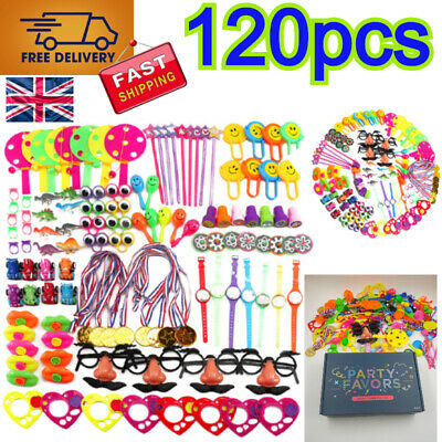 Party Bag Fillers Favours Children's BirthDay Prizes 120pcs Toys Games Rewards