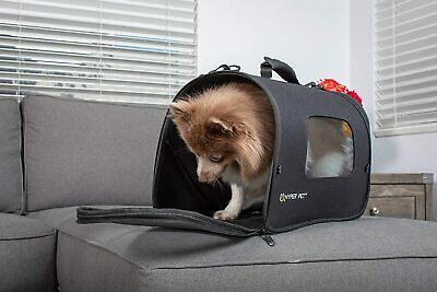 Hyper Pet Soft-Sided Travel Bag Dog Carrier (Collapsible Dog Carrying Bag) Small
