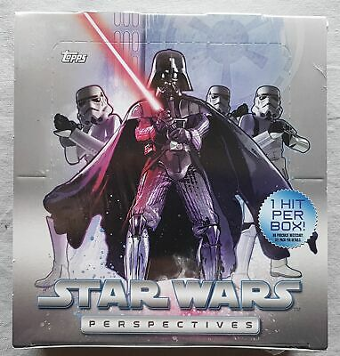 Topps Star Wars Cromo Perspectives Box