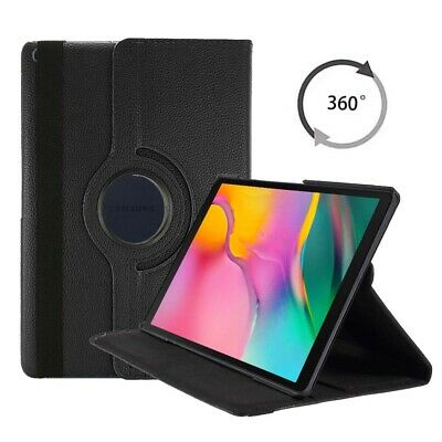 For Samsung Galaxy Tab A 8.0in 2019 PU Leather 360 Rotating Stand Case Cover