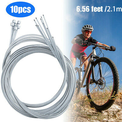 4mm 1//3//5M MB RB Folding Bike Bicycle Shifter Steel Wire Cable Tube Housing Pro