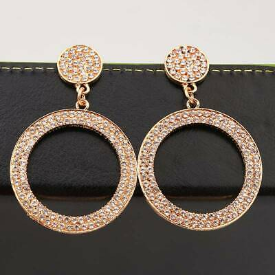 Party Circle Earrings Earring Delicate Geometric Accessories Chic Bohemia Drop