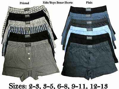 Easy Care Classic Boxers Underwear 6 Pairs Of Boys Men/'s Neon Boxer Shorts