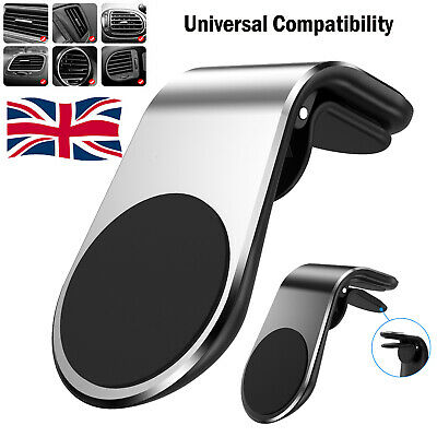 In Car Magnetic Phone Holder Fits Mount Air Vent Bracket For Mobile Phones GPS