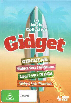The Complete Gidget Movie Collection NEW PAL 4-DVD Set Paul Wendkos Sandra Dee