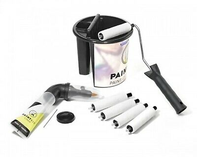 kit de peinture paint it perfect roller kit 5 rouleaux + manche + sceau +support