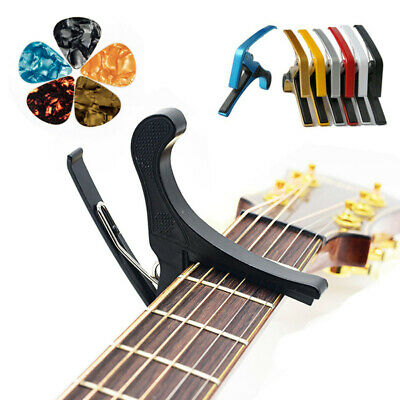 Premium Guitar Capo Trigger Clamps For Acoustic Electric Classical Guitars Banjo
