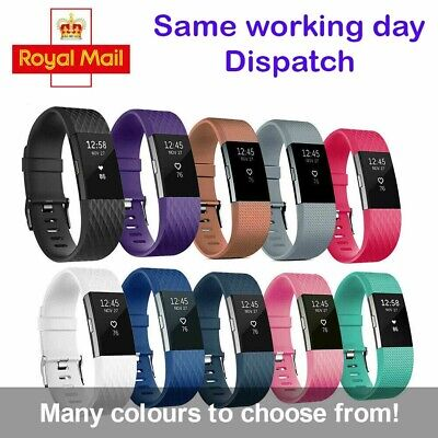 For Fitbit Charge 3/4 Strap Band Wristband Watch Replacement Silicone Watch Band