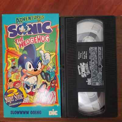 Sonic The Hedgehog The Movie Vhs 1999 31 00 Picclick