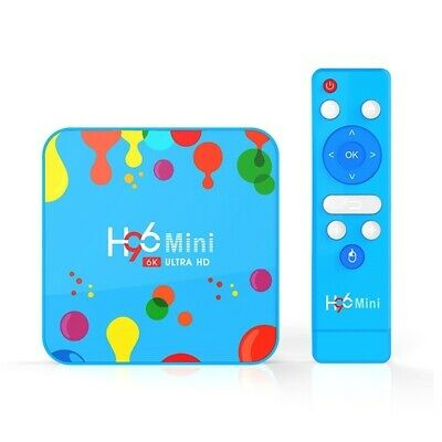 X96 mini H96 Mini 4K récepteur décodeur TV Box Android Smart WiFi (New 2020)