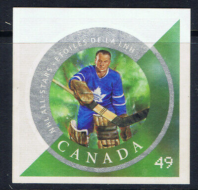 Canada #2017d(1) 2004 49 ct NHL ALL-STARS JOHNNY BOWER MAPLE LEAFS MNG