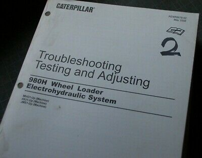 CATERPILLAR 980H Wheel Loader ELECTROHYDRAULIC System Troubleshooting Manual