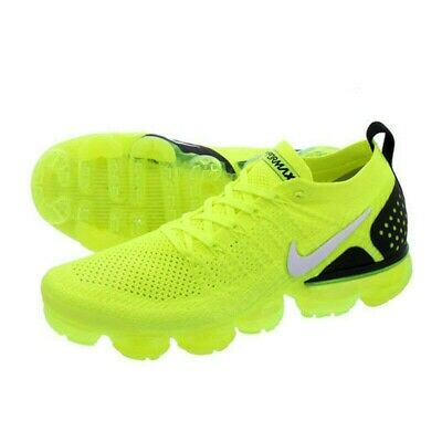Nike Air Vapormax Flyknit 2 Men's Running Shoes Bright Neon Ghost From NY !!!