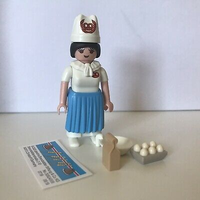 Chef Eggs Bowl Series 17 Female NEW RELEASE 70243 Playmobil Baker Cook