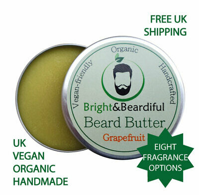 Natural Organic & Vegan Super Soft Premium Quality Bedtime Beard Butter 60ml