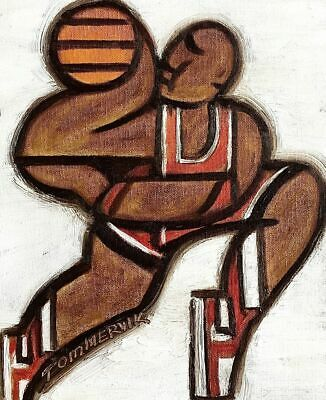 MICHAEL JORDAN DUNKING PAINTING BASKEtBALL ART MJ DUNKING ORIGINAL Abstract