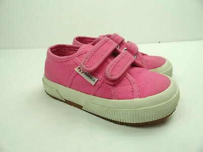 Superga 2750 Girls Classic JStrap Casual Sneaker In Pink