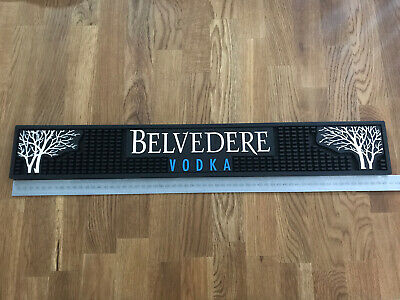thick rubber RARE item 55cm x 12cm x .8 cm Peroni bar runner approx size