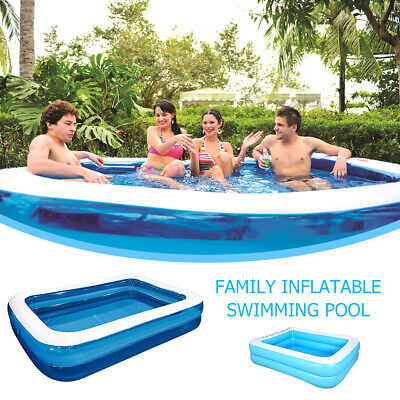 Swimming Pool Family Garden Outdoor Summer Inflatable Kids Adult Paddling Pools