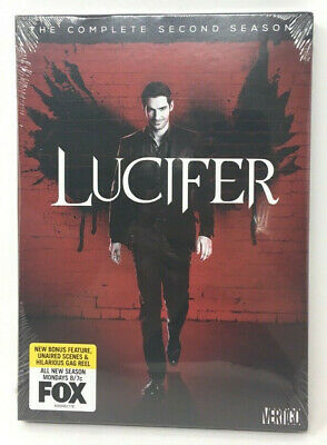 Lucifer: The Complete Second Season Brand New - SEALED