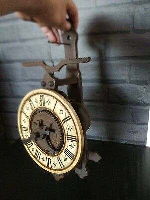 West Germany Wooden Wood Wall Clock Helo Held Vintage /Reproduction Rare /Old