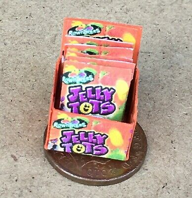 Box of Rolos Sweets for Dollshouse Miniatures Display 1//12 Scale