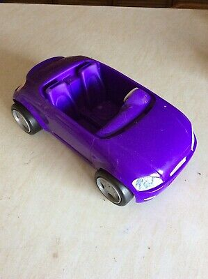 Barbie DVX59 Doll Car Convertible Glam Pink - 2 Seater