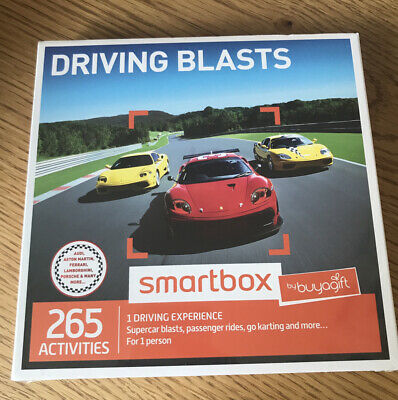 Smartbox Driving Blasts Gift Experience Choose From 265 Activities Car Buyagift