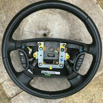 Jaguar Xj Leather Steering Wheel