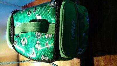 Smiggle Bag Boys Packed Lunch Box Football design