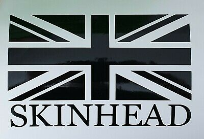 Skinhead Union Jack Flag Mod SKA Car Window Wall Sticker Decal BUY 2 GET 1 FREE