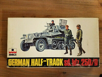 1:72 German Sd.Kfz 7 Half-Track Military Vehicle  Assembly Model+10 Soldier Mod