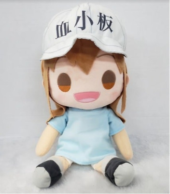 """New Anime Cells at Work Platelet Soft Stuffed Plush Toy Doll Gift 20cm 8/"""" Gift"""