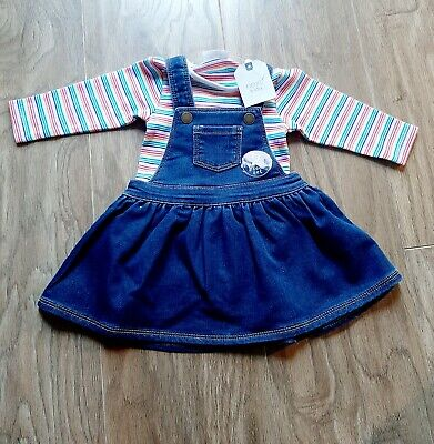 NEXT Baby Girls Outfit Rainbow 0-3 months BNWT