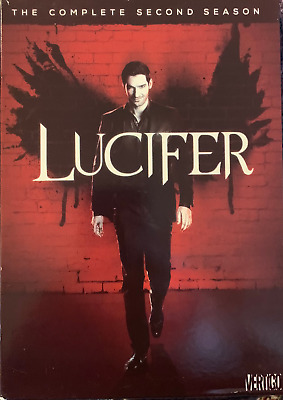 Lucifer: The Complete Second Season 2 (DVD, 2017, 3-Disc Set)