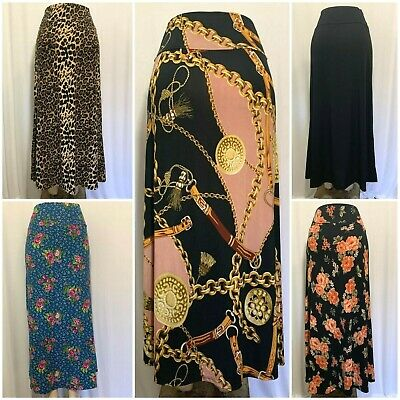 Maxi Skirt Long Skirt Regular,Plus S-3X**Made in USA**Falda Larga tallas grande*