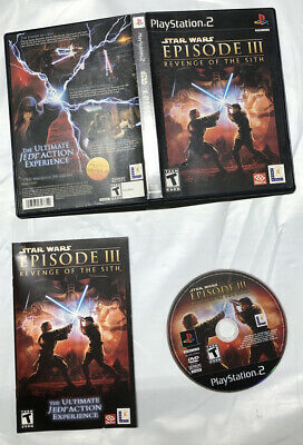 Star Wars Episode Iii Revenge Of The Sith Playstation 2 Ps2 Complete Tested 8 00 Picclick