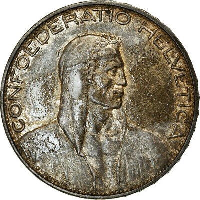[#853810] Coin, Switzerland, 5 Francs, 1926, Bern, EF, Silver, KM:38