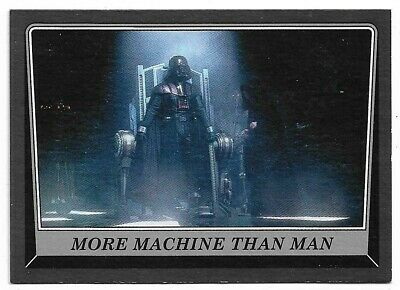 Star Wars Rogue One Mission Briefing Green Base Card #42 An Overdue Reunion